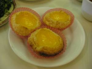 Custard egg tart