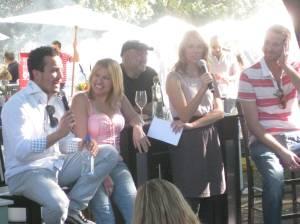 Top chef contestants: Fabio, Betty & CJ
