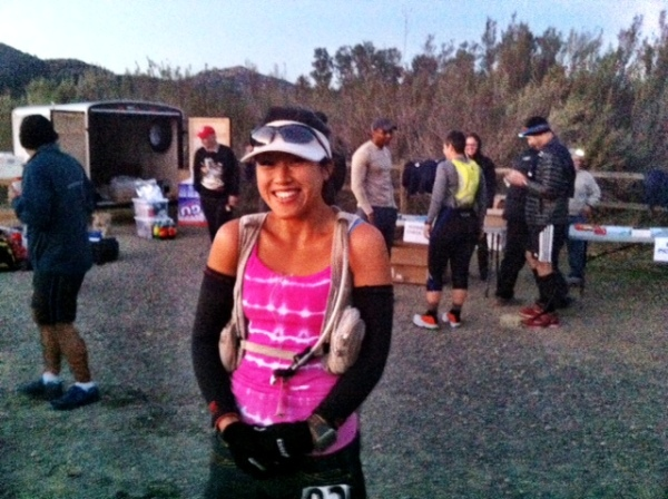 Way too happy to be running a 50 miler
